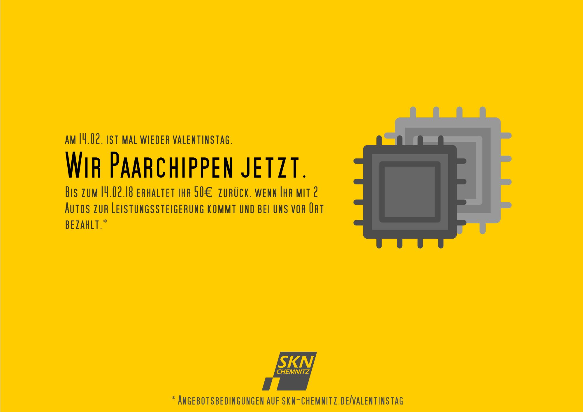 paarchippen bei SKN Chemnitz Cashback Rabatt Chiptuning